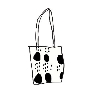 bag_dot (black)