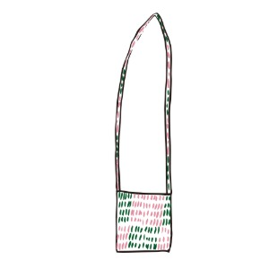 bag_cross (pink & green)
