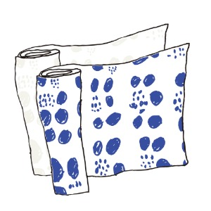 fabric_dot (white / blue)