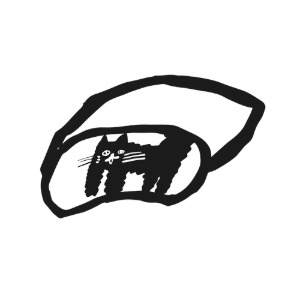 [주문제작] BLACK CAT EYE MASK (~11/22)